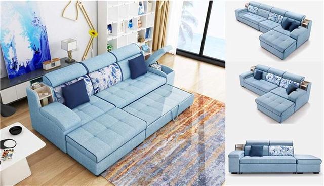 10個富有創意的沙發床設計 既是沙發也是床