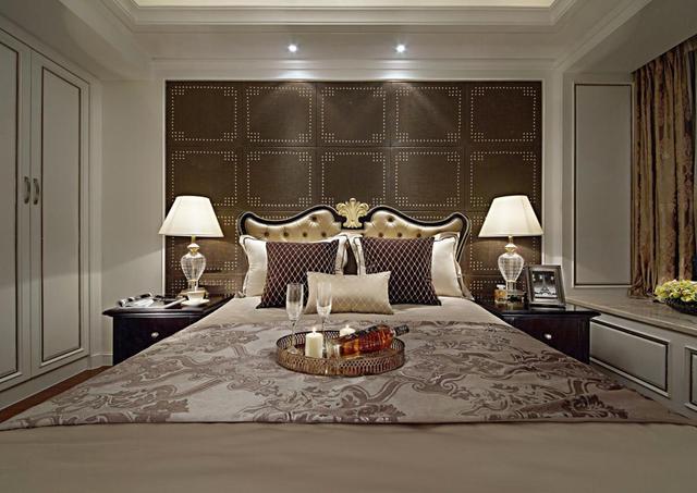 16款欧式主卧室装修效果图欣赏 这样的卧室很豪气