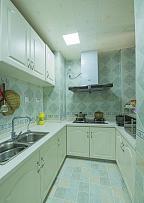 80㎡地中海风厨房装修效果图