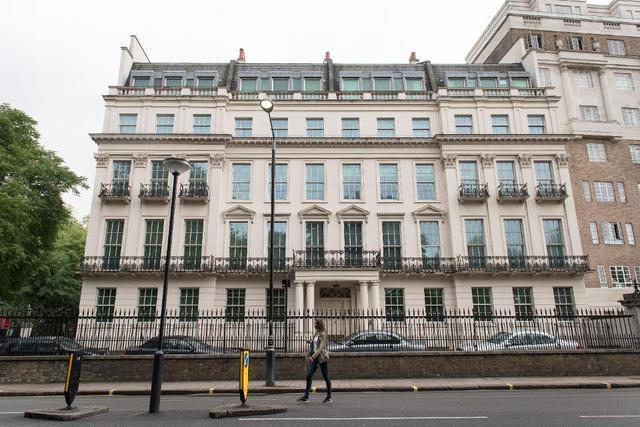 中国富豪18亿买伦敦豪宅刷新纪录 中渝置地张松桥豪宅什么样子