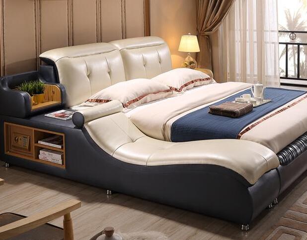 臥室別用普通雙人床了 年輕人都用多功能床 好實用