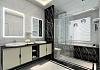 卫生间淋浴隔断选用玻璃好还是浴帘好?收藏啦