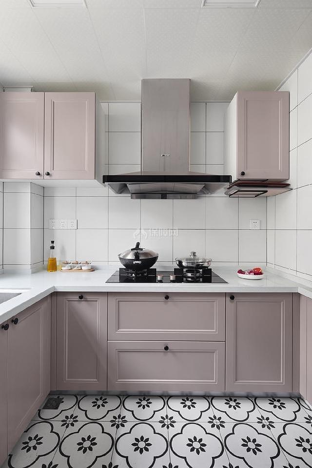 80㎡ins宜家厨房装修效果图