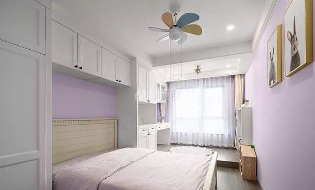 140平现代简美儿童房装修效果图
