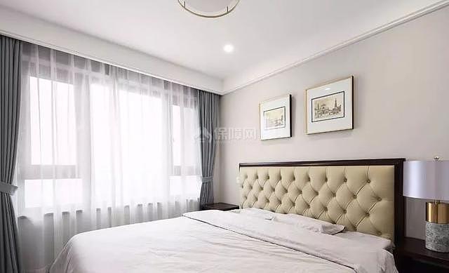 140平现代简美老人房装修效果图