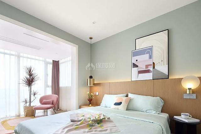 107平米现代卧室装修效果图