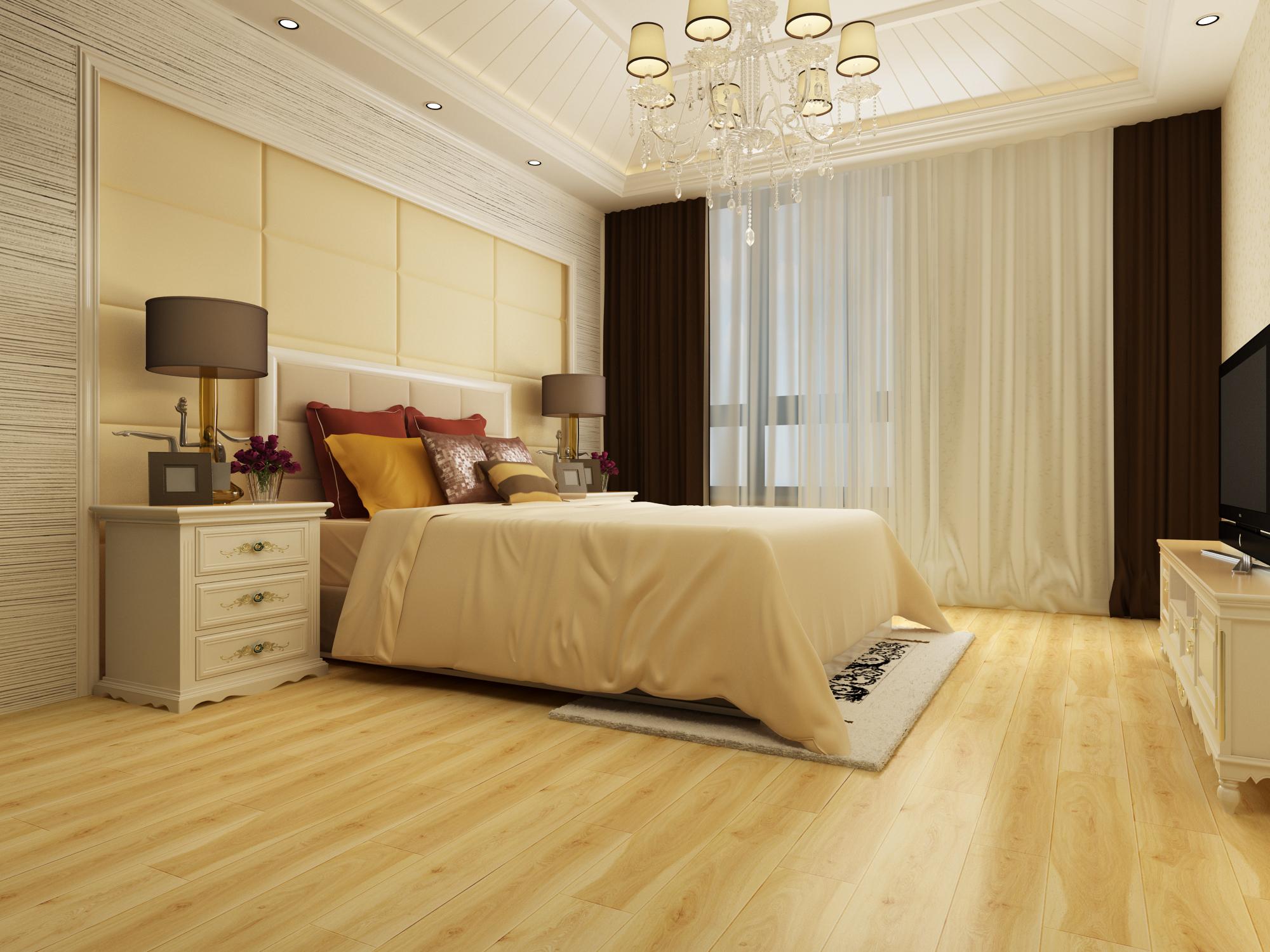 卧室地板什么颜色好又大气