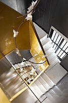 375㎡自然主义别墅楼梯设计效果图