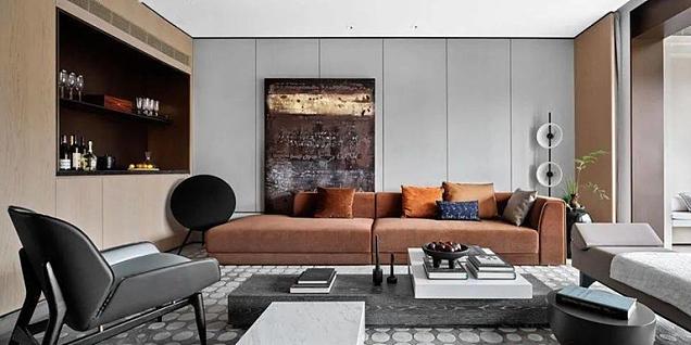 225平摩登现代别墅装修设计案例