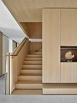 225平摩登现代别墅楼梯设计效果图