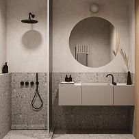 70㎡极简小户型浴室装修效果图