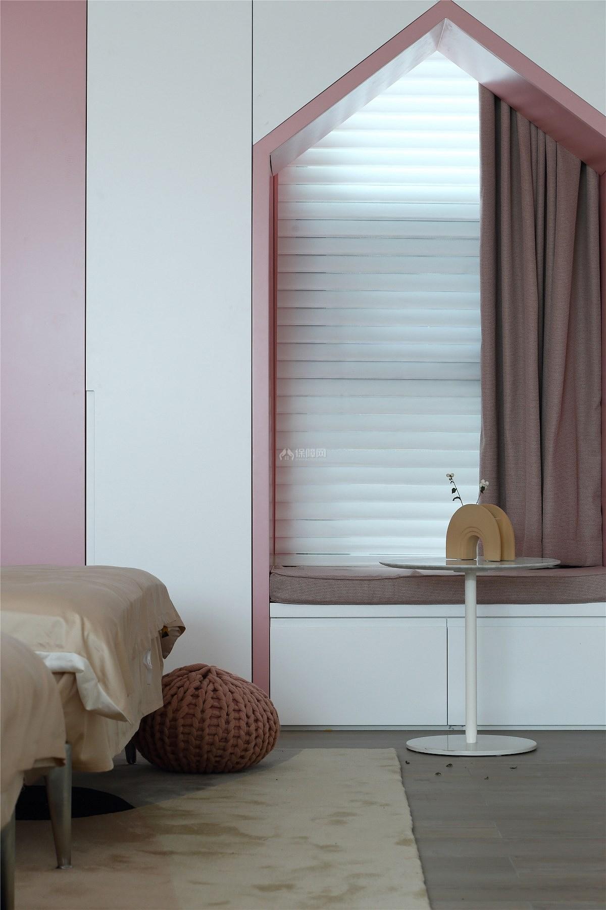 215㎡温馨现代跃层儿童房窗台设计效果图