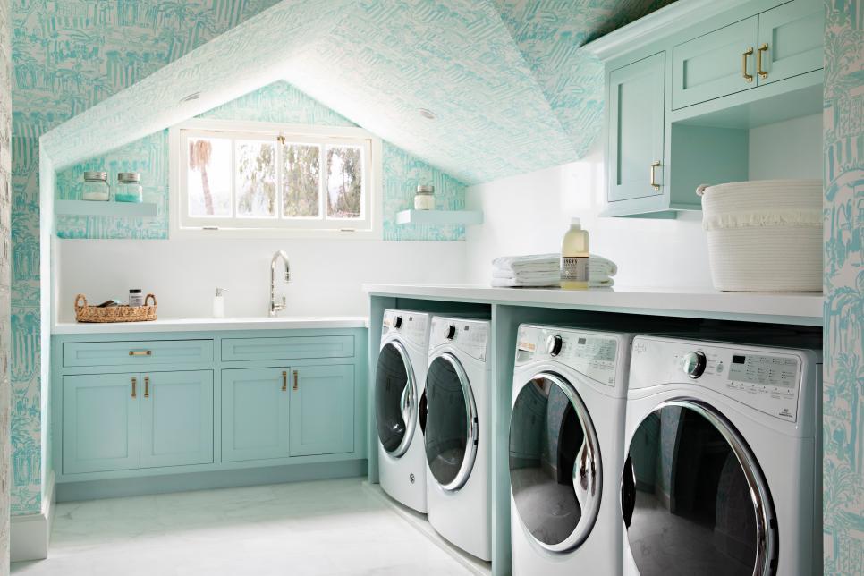 杂乱的洗衣房如何整理 聪明的存储技巧打造有序的空间