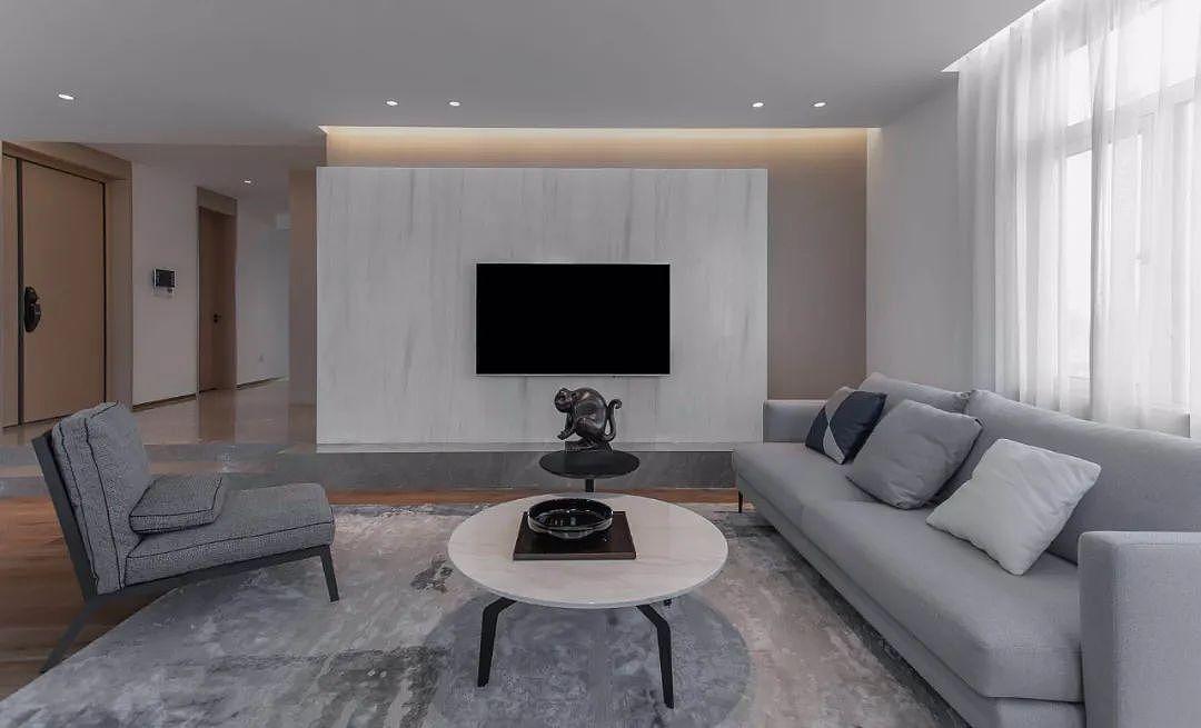 140㎡现代简约家 打造安静舒适的空间