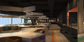杭州博多办公空间设计案例