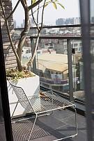 132㎡现代轻奢阳台布置效果图