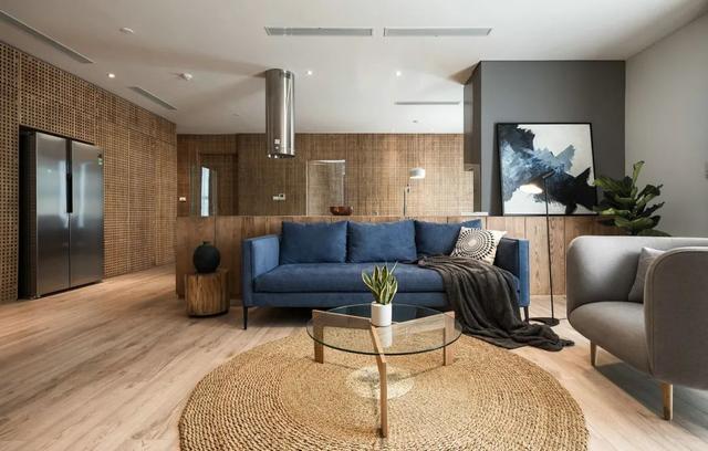 127㎡簡約原木風 木飾面材質為主 有原始氣息