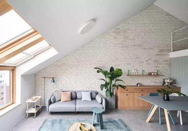 阁楼这样创意设计别有天地 感觉和住豪宅一样