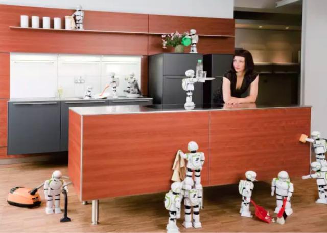 """三八节送妈妈什么礼物 不妨让""""机器人""""包办家务"""