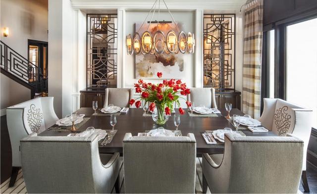 10个豪华不同风格的餐厅设计 营造温馨的就餐环境