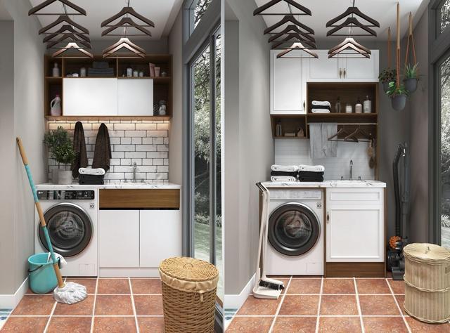洗衣机除了放阳台上 还可以考虑这2个地方
