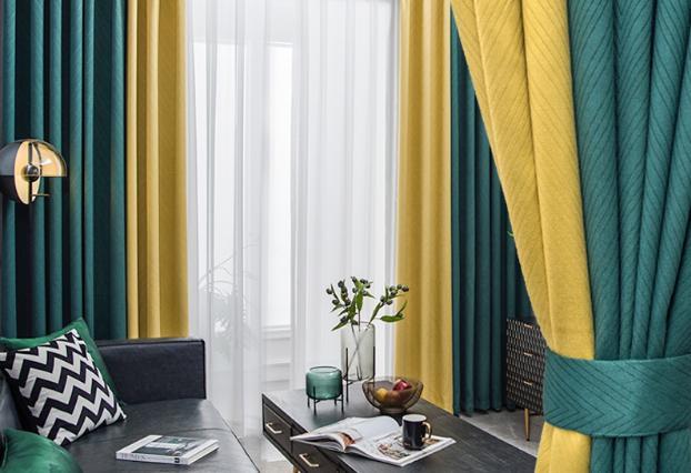 想打造北欧风 窗帘的选择特别要注意