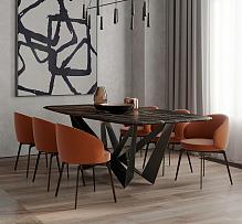 98㎡极简风公寓餐厅装修设计效果图