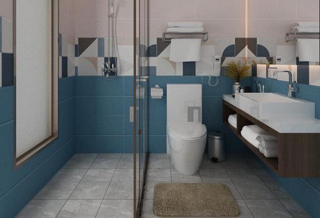 长3.3米*宽2米的卫生间 如何实现干湿分离