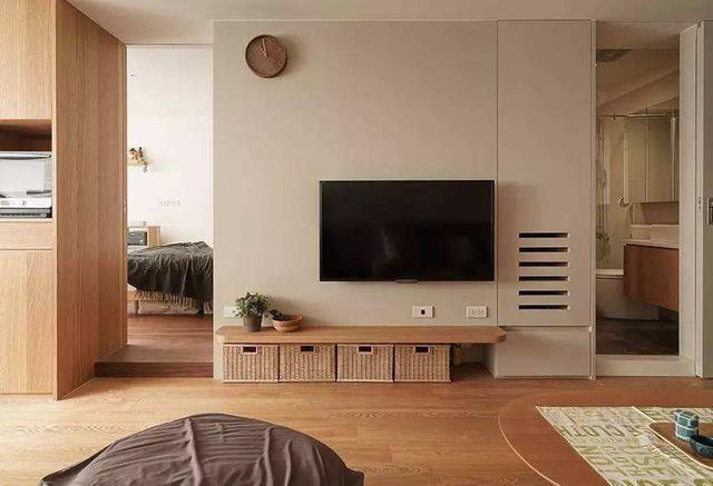你们家的电视藏起来了吗 有品位的人是这样设计客厅