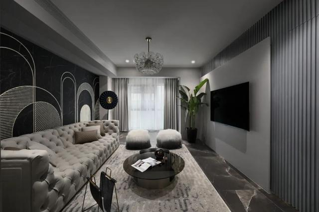 129平现代高级灰 打造轻奢又有范的家