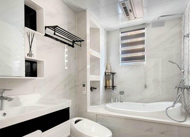 卫生间装修不做柜子 直接砌一个30公分壁龛