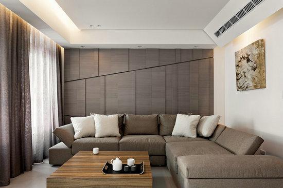 客厅也可以不用电视 这样设计更宽敞