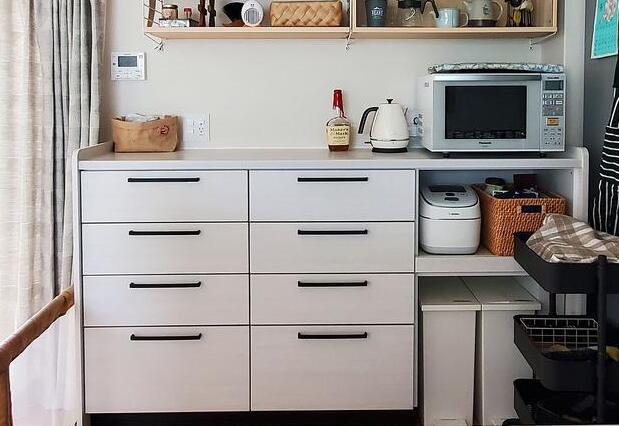 学学20个日本家庭的餐边柜搭配设计 不再乱糟糟