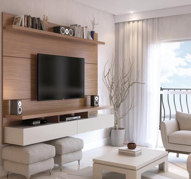 电视柜组合设计图片 不仅现代美观而且充满创意还实用