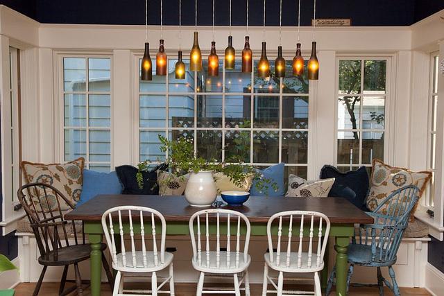 点亮餐厅的21种创意灯具的有趣方式