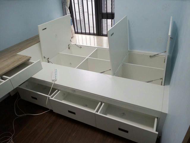 榻榻米床这样设计 可以增加几倍收纳空间