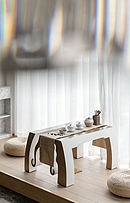 240㎡欧式休闲茶室装修设计效果图