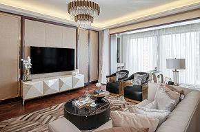 240㎡欧式客厅装修设计效果图