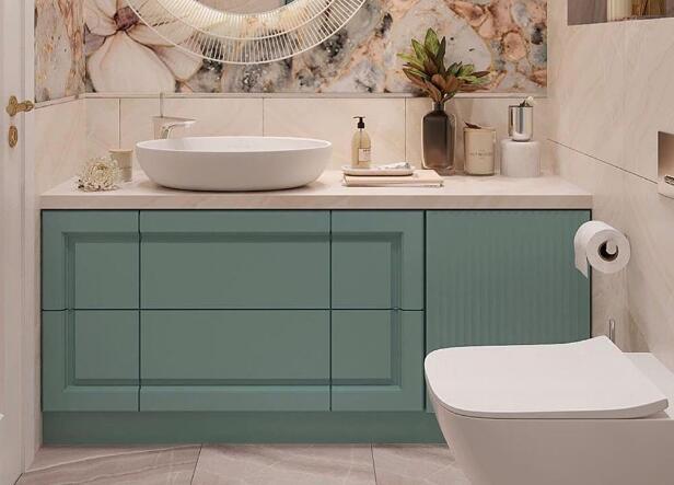 5㎡的浴室都能这么高颜值 让沐浴变得享受