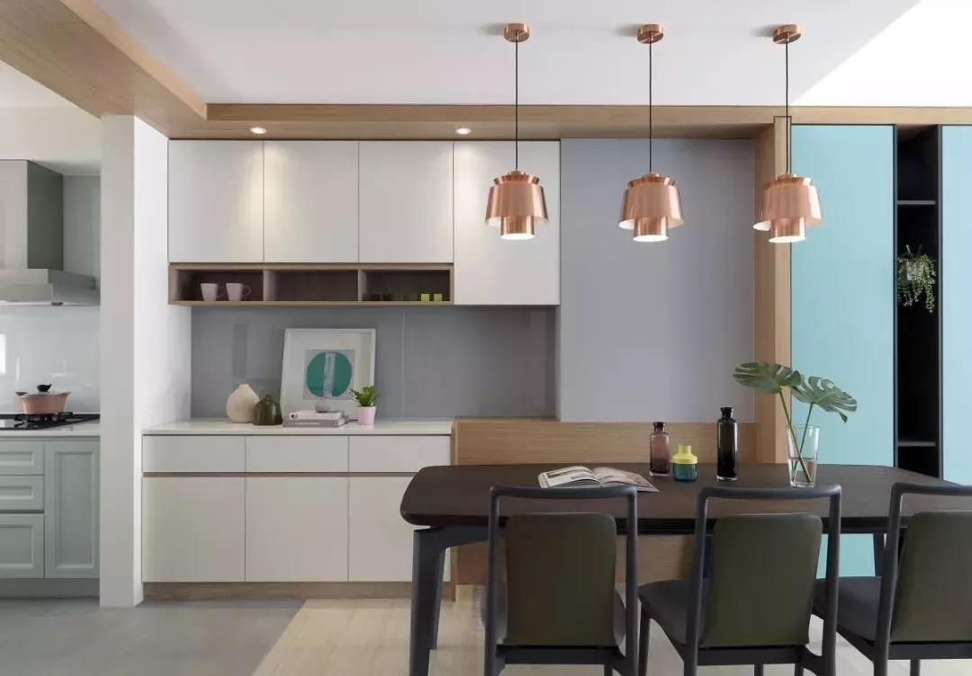空间够一定要装餐边柜 这3种设计让餐厅实用100倍