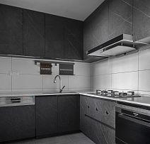 132㎡时尚北欧风厨房装修效果图