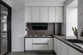 260㎡时尚现代厨房装潢效果图