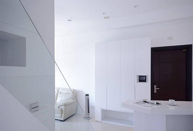 白色屋语装修日记 40㎡极简复式两居室