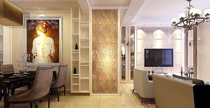 打造客厅卧室隔断效果图 美观实用完美界限!