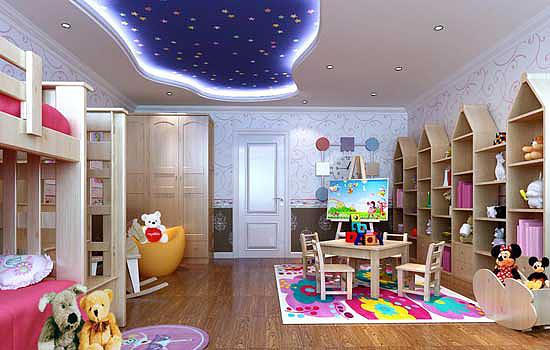 儿童房装修设计安全须知