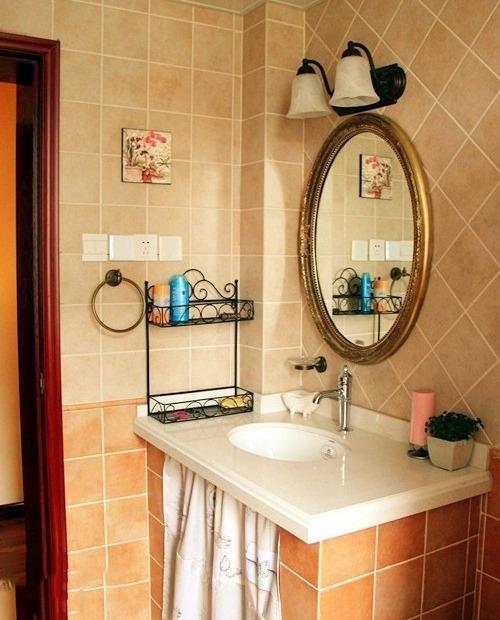 3室2厅旧房改造美式田园家 温馨舒适