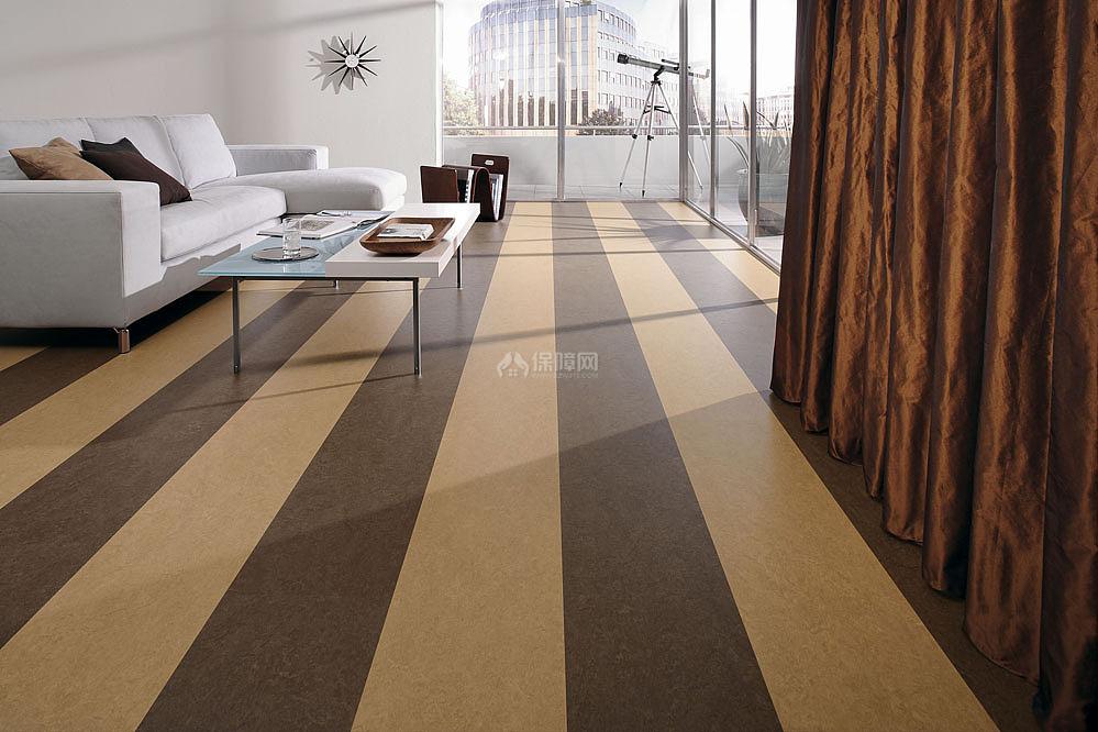 复合PVC地板的缺陷