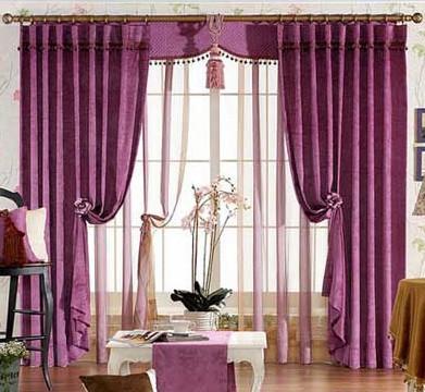 窗帘布艺效果图