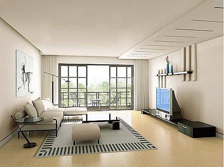居室地面装饰方法
