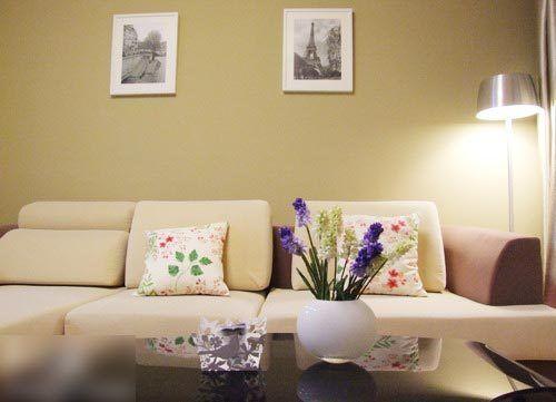 二手房翻新装修 二房二厅浪漫简约风格